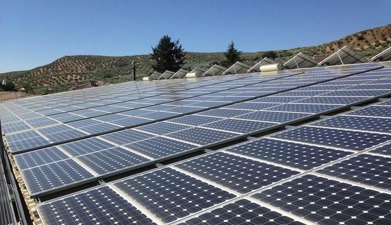 Instalación planta fotovoltaica